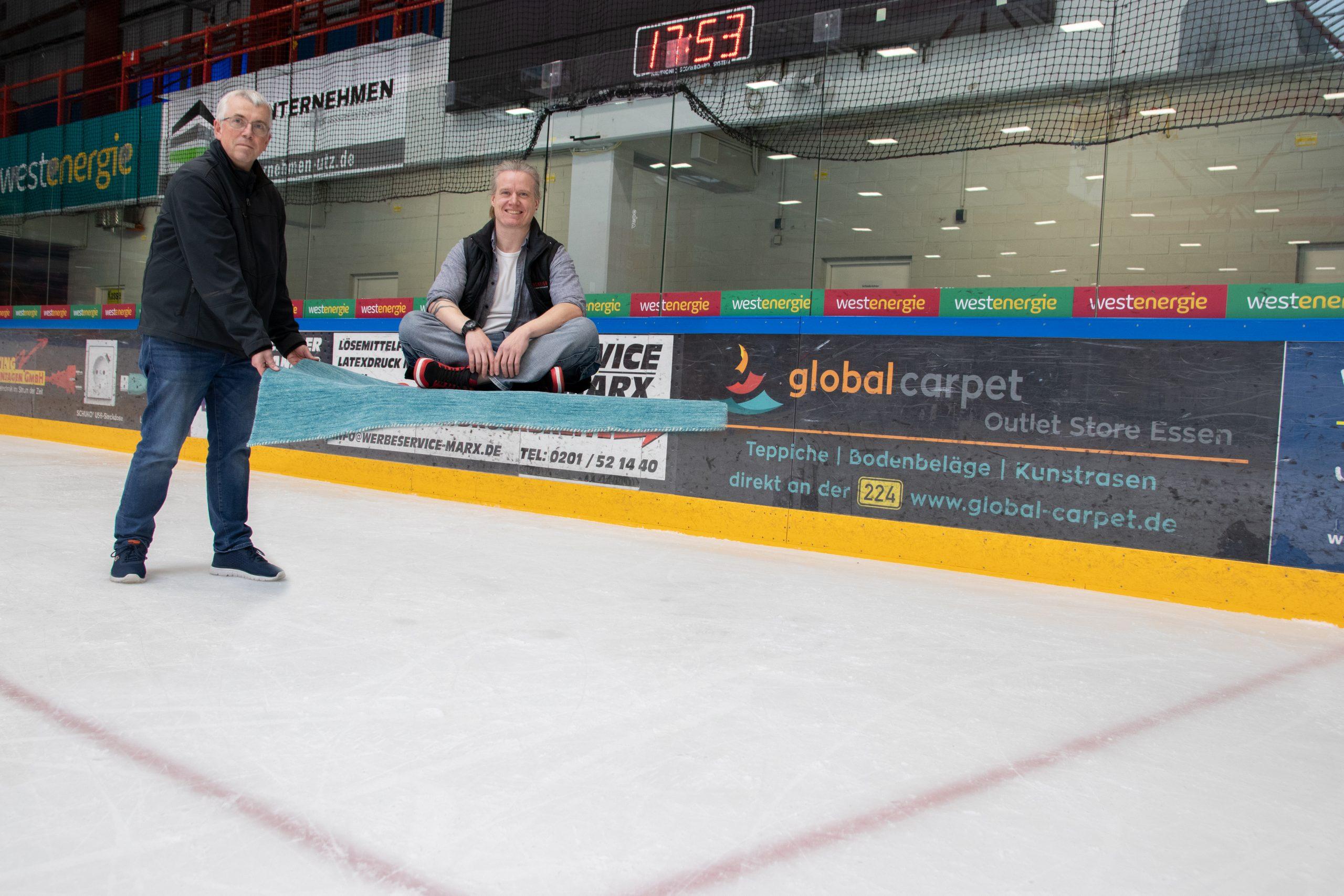 """Global Carpet """"fliegt"""" auch in der neuen Saison mit den Moskitos!"""